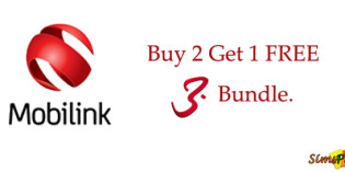 "Mobilink Brings ""Buy 2 Get 1 FREE"" Offer On Its 3G 3 Day Bundle"