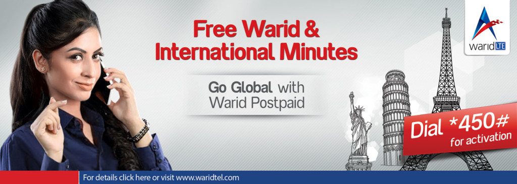 Warid Brings Go Global Offer for New Postpaid Customers