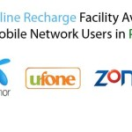 Online Recharge Facility Available for All Mobile Network Users