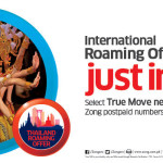 Zong Thailand Roaming Offer for Postpaid Customers