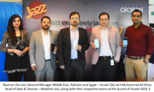 Mobilink Launches Alcatel IDOL 3 with Free Data for 6 Months