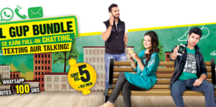 Zong Full Gup Hybrid Bundle Offer