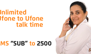 Ufone Talkville – Postpaid On-Net Call Package