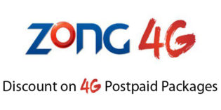 Zong 4G Brings Huge Discounts On Postpaid