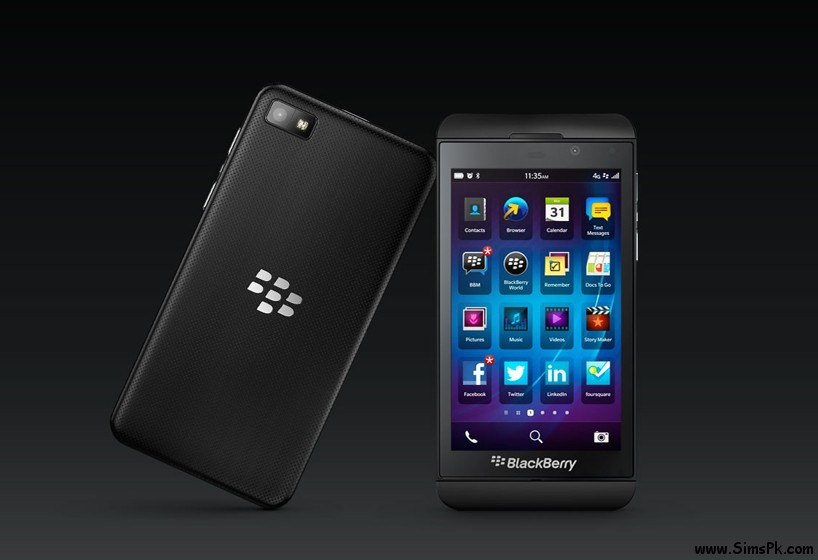 Ufone Blackberry Z10