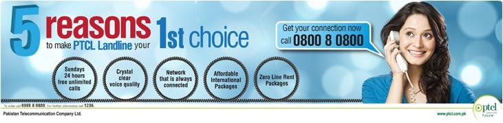 PTCL Call Tariff - International / Domestic