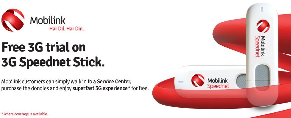 Mobilink Launches 3G Enabled USB Dongle