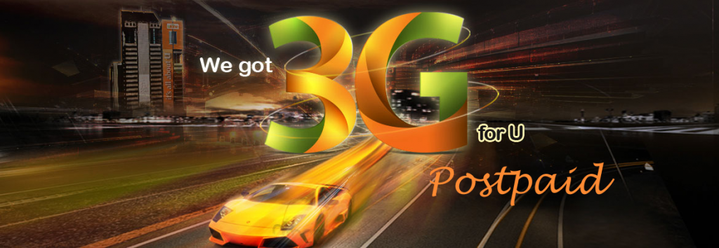 Ufone 3G Packages Postpaid