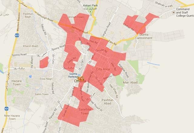 Ufone 3G Quetta
