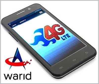 Warid 4G LTE Services