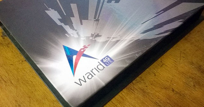 Warid's 4G LTE trials