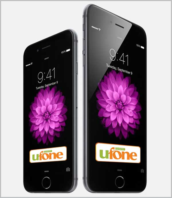 Ufone Announces iPhone Bucket