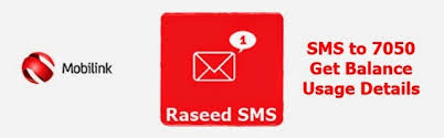 Mobilink Introduces Raseed Service & Menu