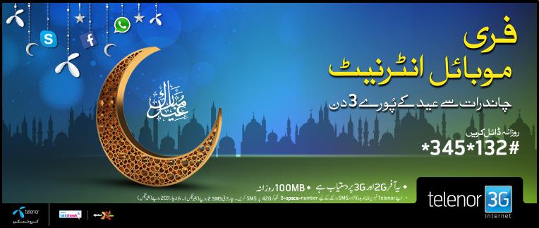 Telenor Eid Offer