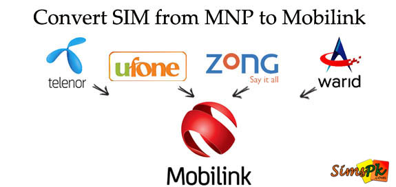 How To Convert Your SIM To Mobilink? (MNP To Mobilink)