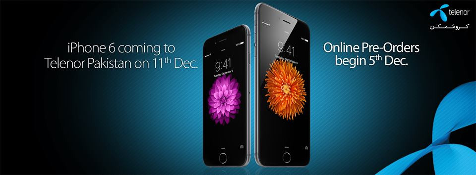 Telenor Announces Pre-Ordering and Selling Date of iPhone 6 and iPhone 6 Plus