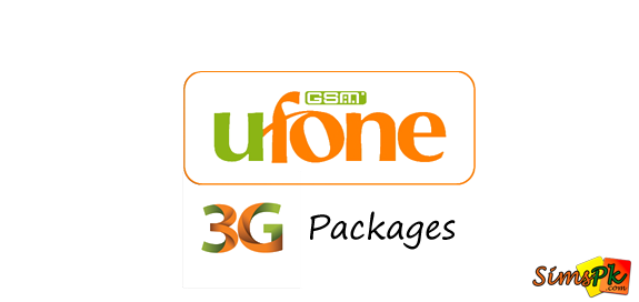 Ufone Internet Packages - 3G Bundles