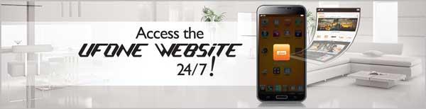 Ufone Smartphone widget App