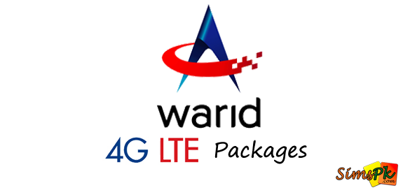 Warid 4G LTE Packages