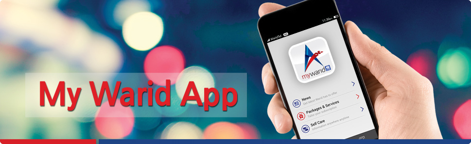 Warid Introduces My Warid App