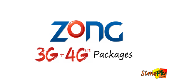 Zong 3G and 4G Packages