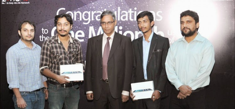 Zong Celebrates 1 Million 3G Subscribers