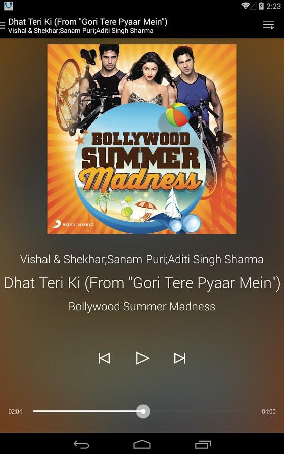 Telenor Music App Screenshots