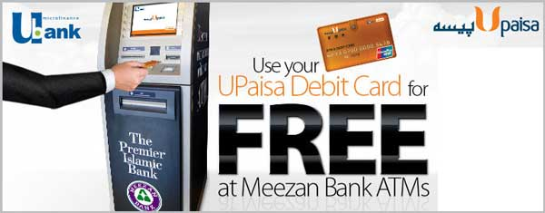 UPaisa Debit Card Brings Free Transactions