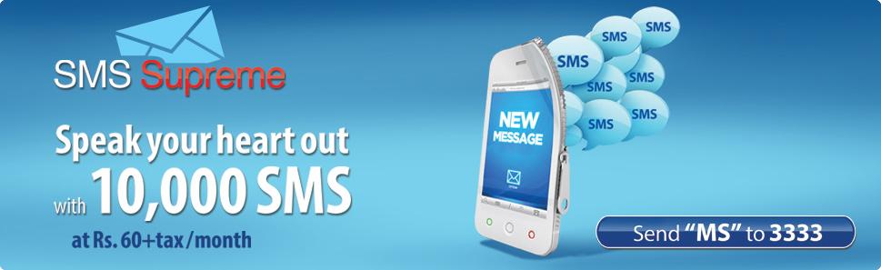Warid SMS Supreme Offer