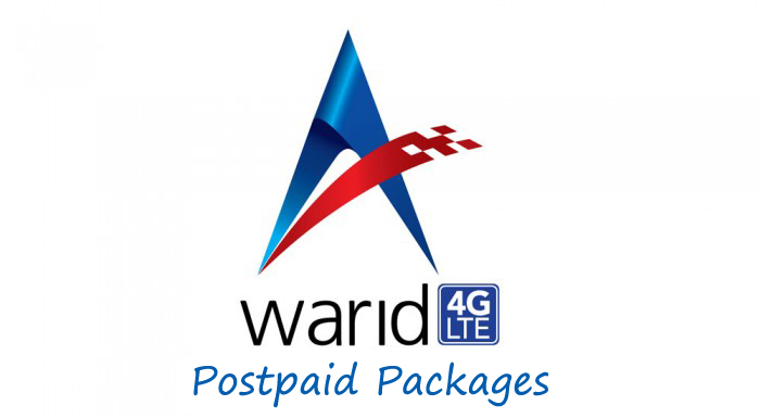 Warid 4G LTE Packages For Postpaid Customers
