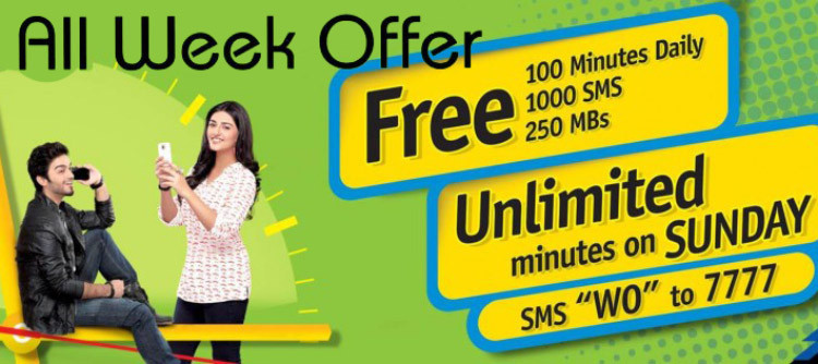 Warid Brings All In One Glow Weekly Hybrid Package