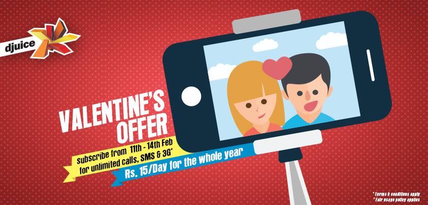 Telenor Djuice Valentine's Day Special Offer