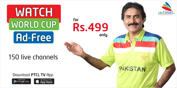 PTCL Brings Ad-Free World Cup with SmartTV App