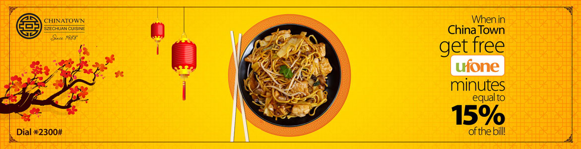 Ufone Gives Free Minutes for Dining In At Chinatown Restaurant