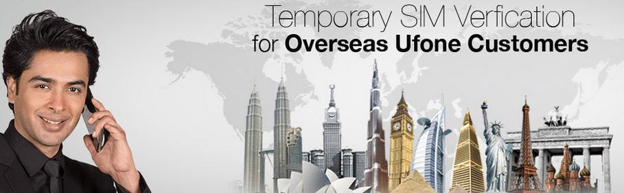 Ufone SIM Verification Process for Overseas Pakistanis