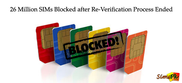 26 Million SIMs Blocked After the Re-Verification Period Ended