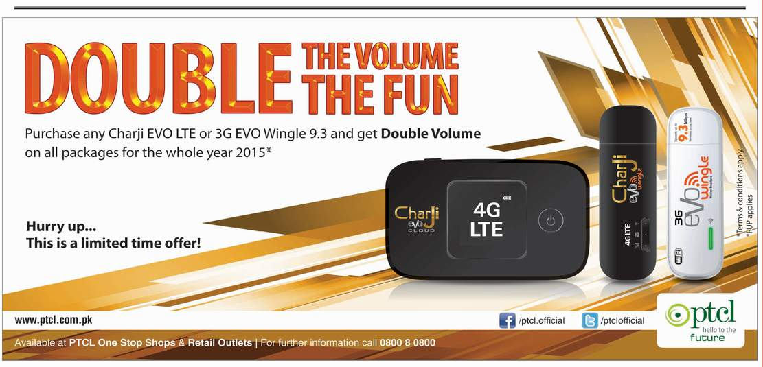 PTCL-Double-Volume-Offer-3G-Wingle-and-Charji-Devices