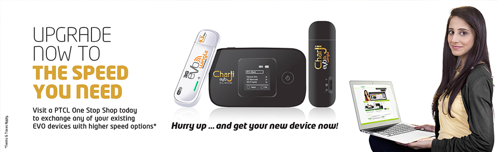 Upgrade EVO Device to Enjoy Discounts & 1 Month Free Service
