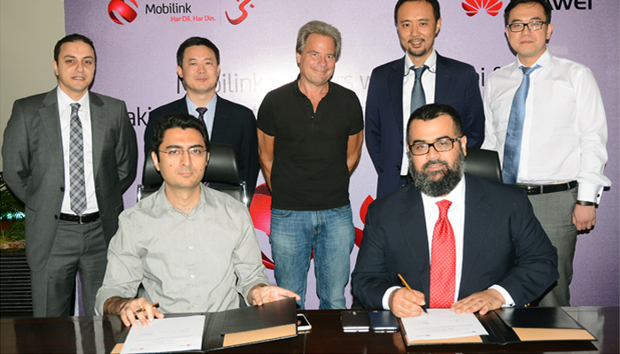 Mobilink Partners Huawei to Upgrade Itself to Pakistan's 1st 100Gbps Optical Network