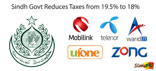 Sindh Government Reduces Telecom Taxes From 19.5% To 18%