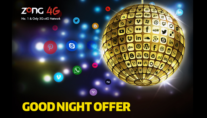 Zong Good Night Offer New