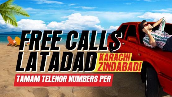 Djuice Karachi City Location Based Offer