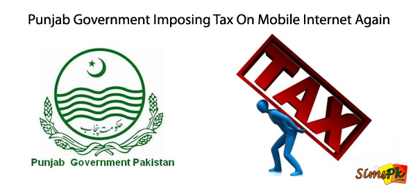 Punjab Government Imposing Tax On Mobile Internet