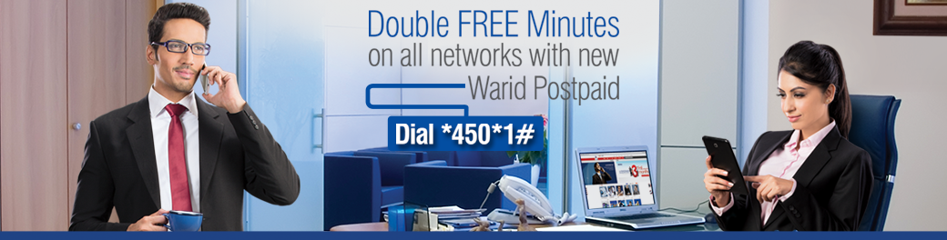 Warid Offers Double Free Minutes for New Postpaid Subscriptions