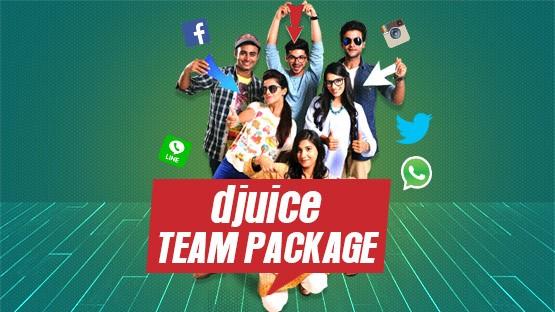 Djuice Team Package
