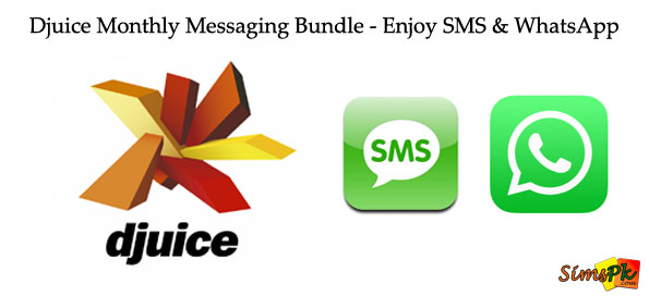 Djuice Monthly Messaging Bundle - Enjoy SMS & WhatsApp