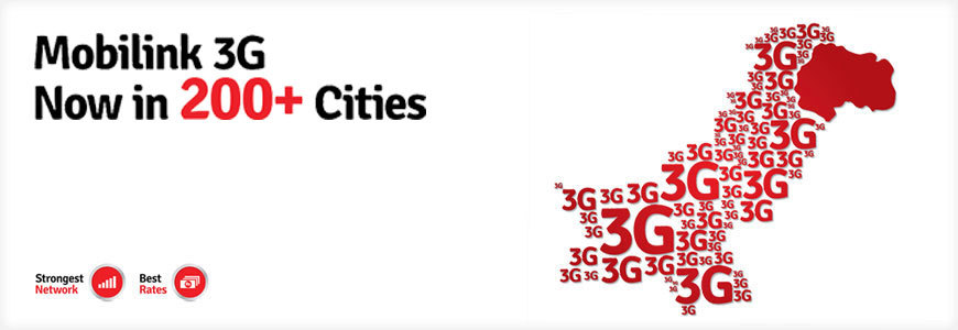 Mobilink Becomes 1st to Expand 3G Network to 200+ Cities
