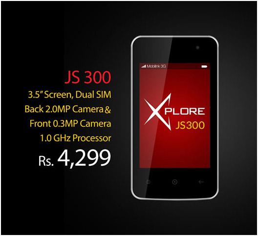 Mobilink X JS300 - Specs & Price