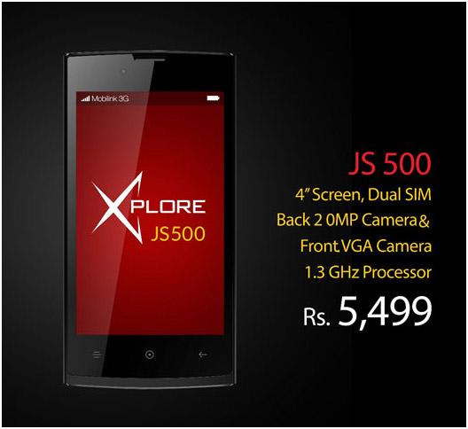 Mobilink X JS500- Specs & Price