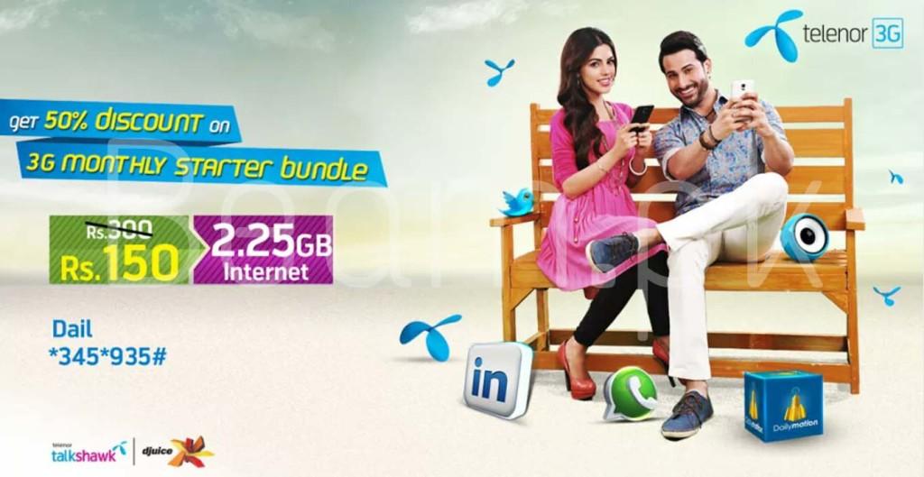 Telenor 3G Starter Bundle